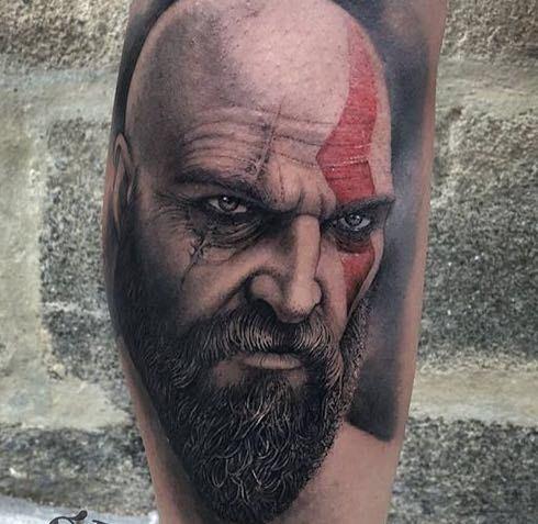 Tatuagem masculina realista 2021