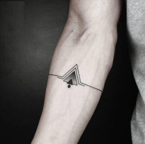 Tatuagem masculina minimalista 2021