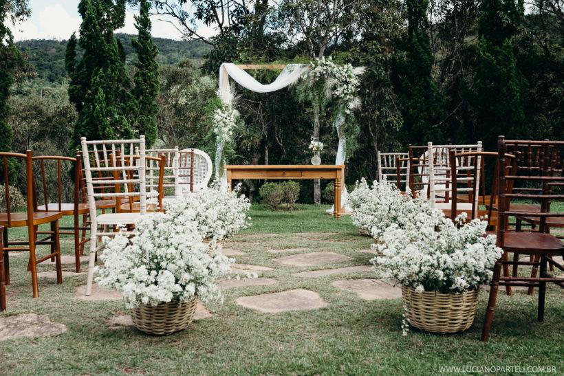 Casamento durante o dia