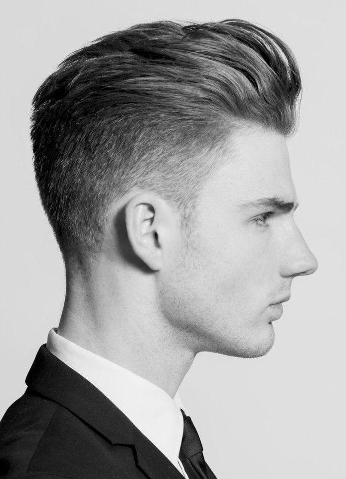 Corte de cabelo degradê Pompadour
