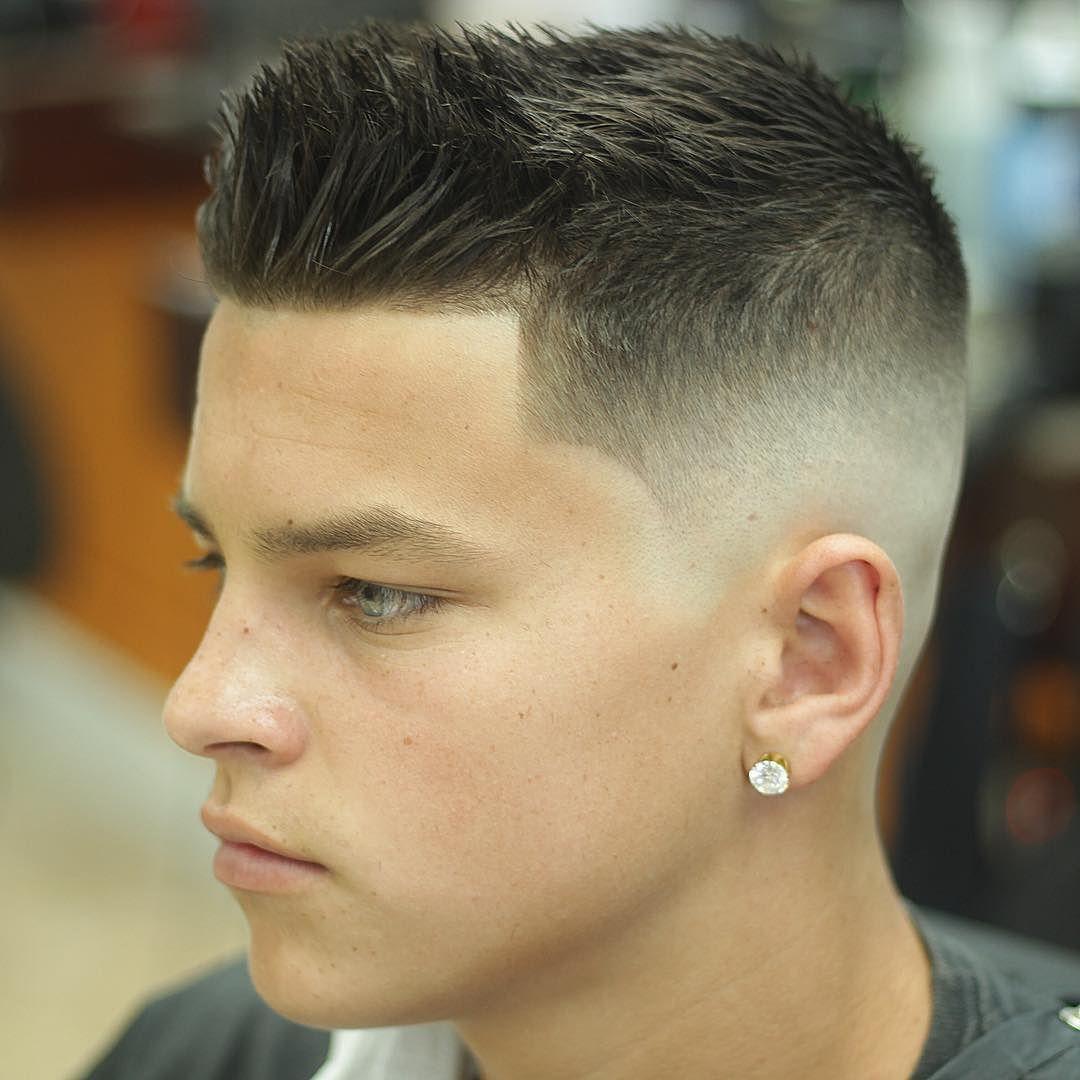 Corte de cabelo degradê americano