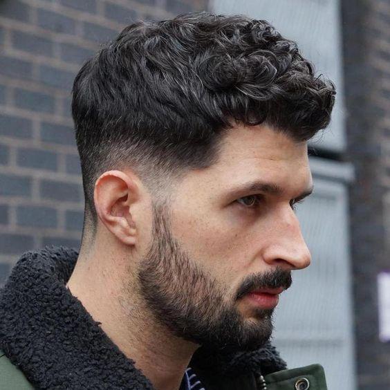 Corte de cabelo masculino 2021 Cacheado
