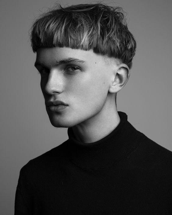 Corte de cabelo masculino Tigela