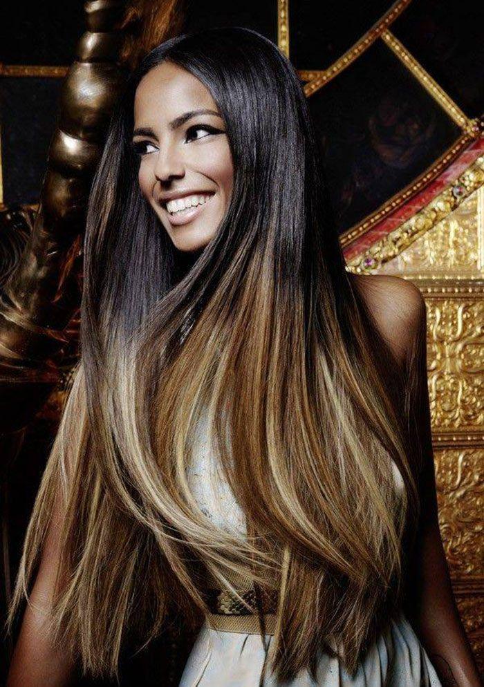 Cortes de cabelo comprido reto