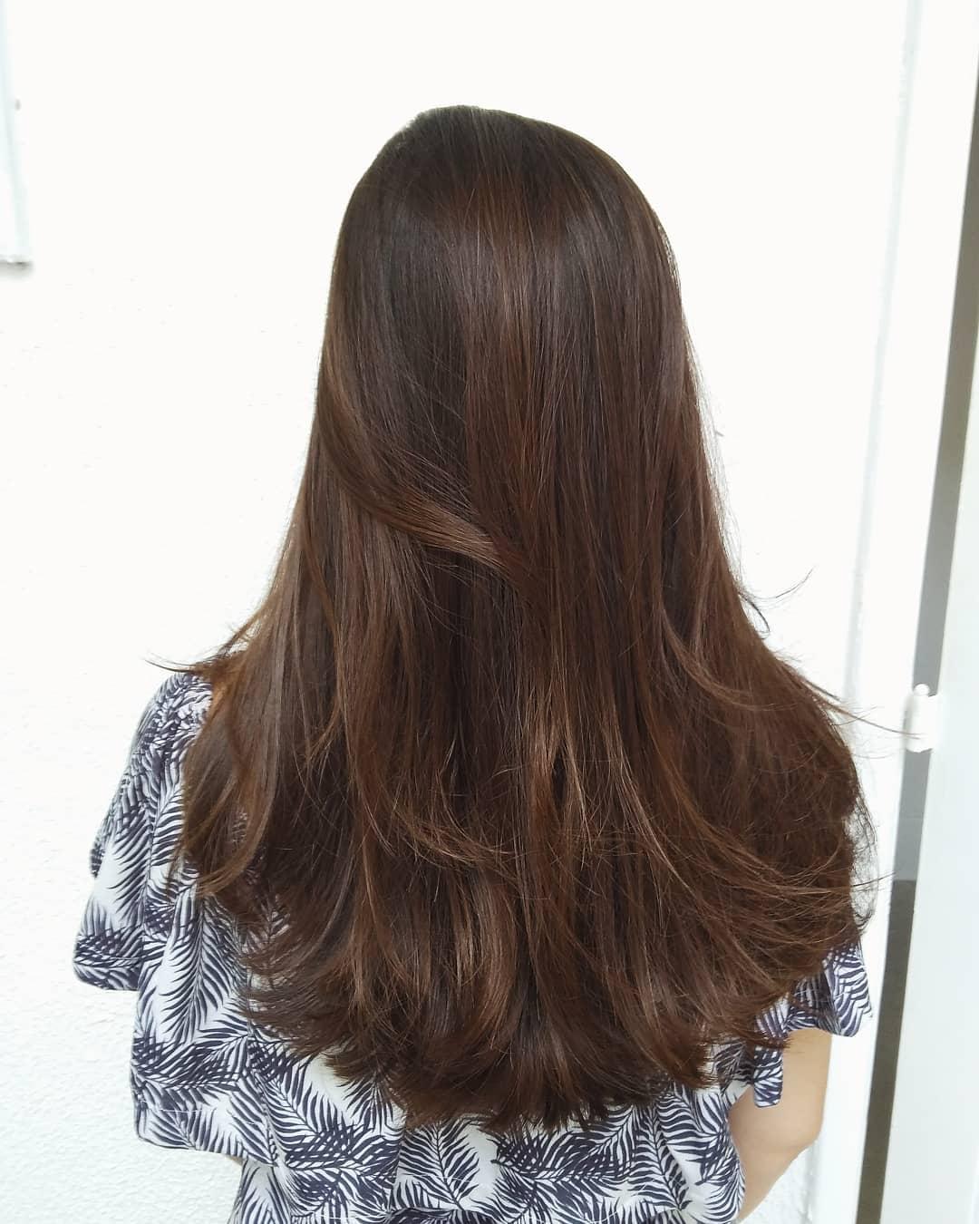 """Cortes de cabelo longo em """"U"""""""