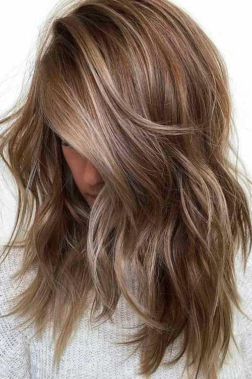 Cortes de cabelo longo repicado