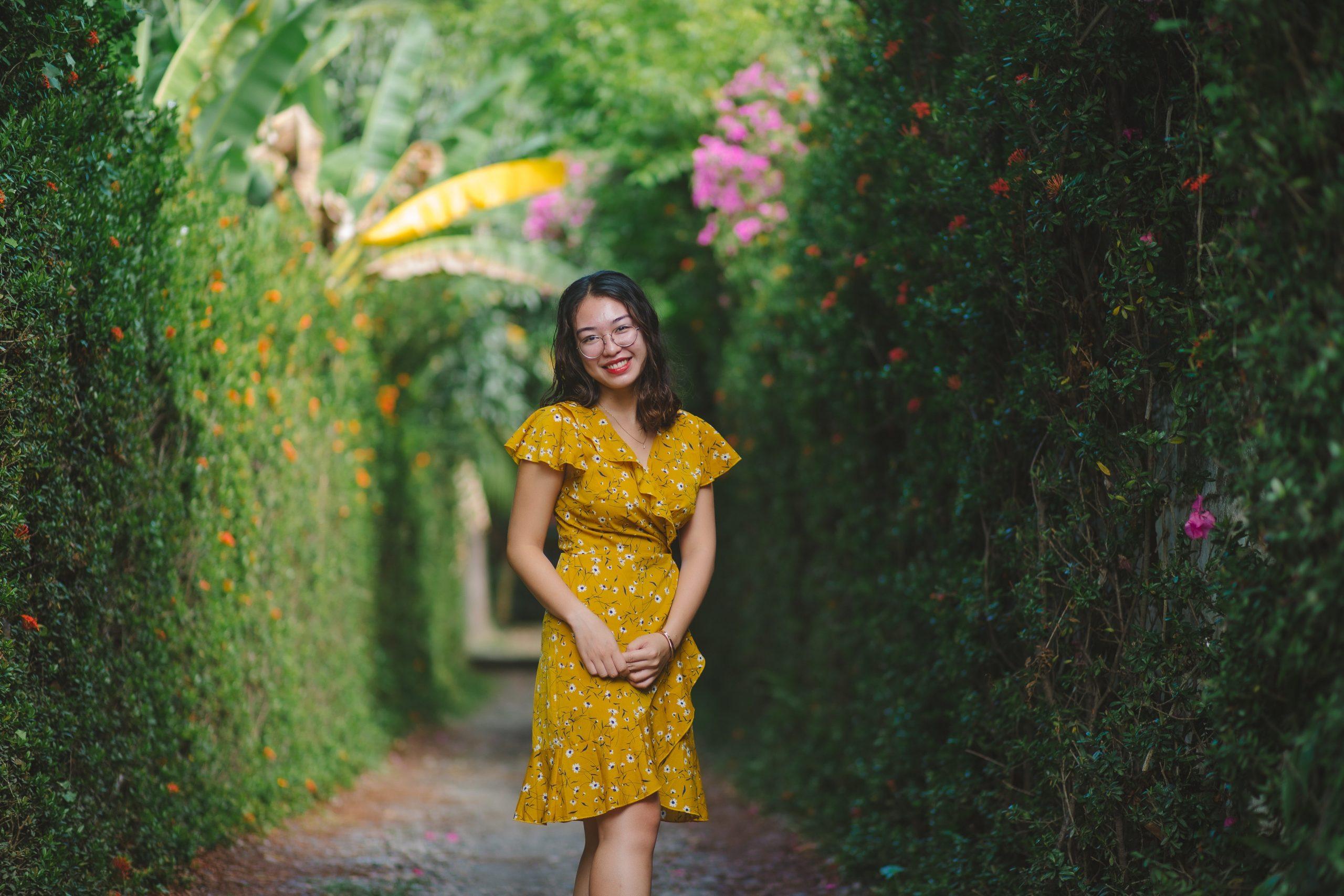 vestido floral curto 2021