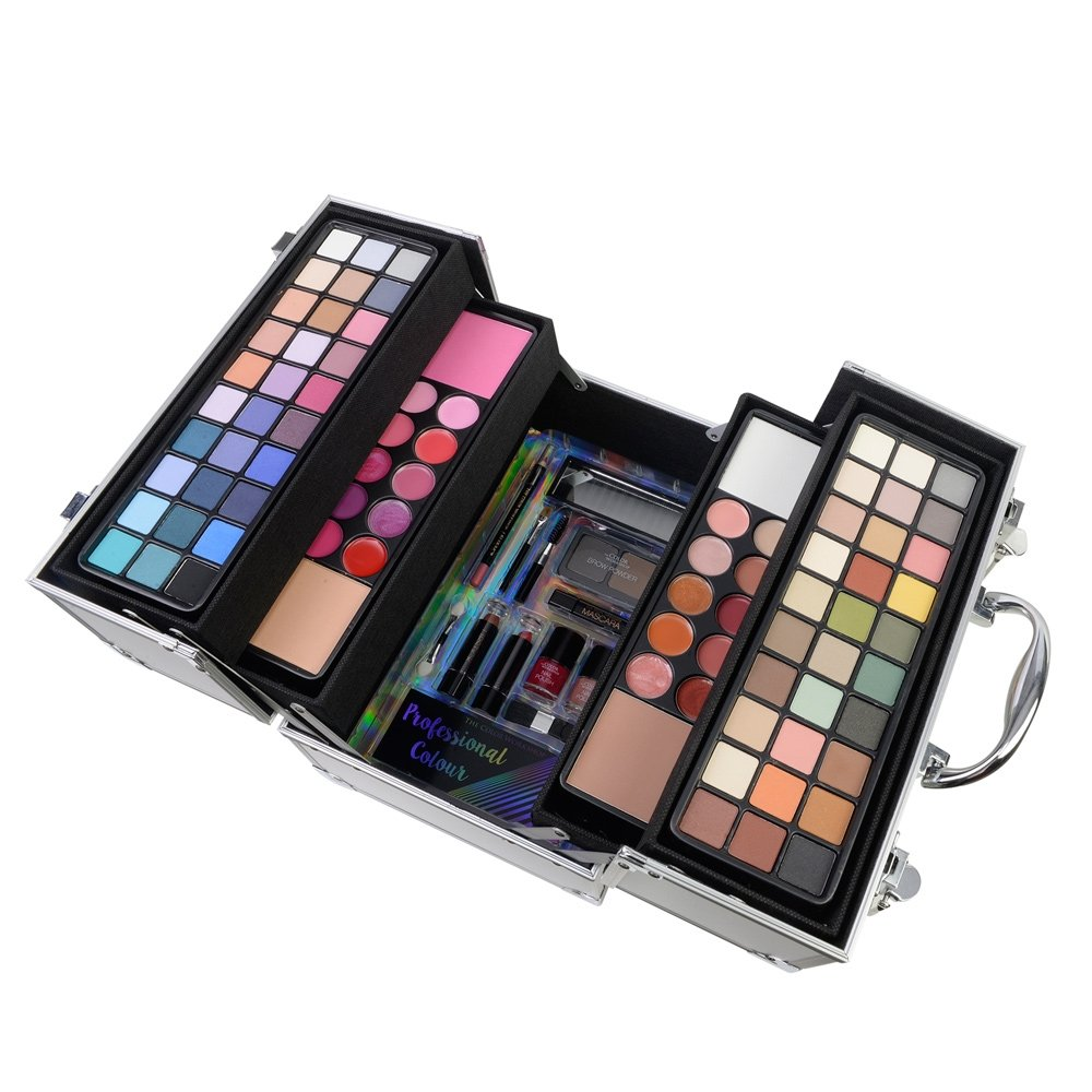 maleta de sombras de maquiagem