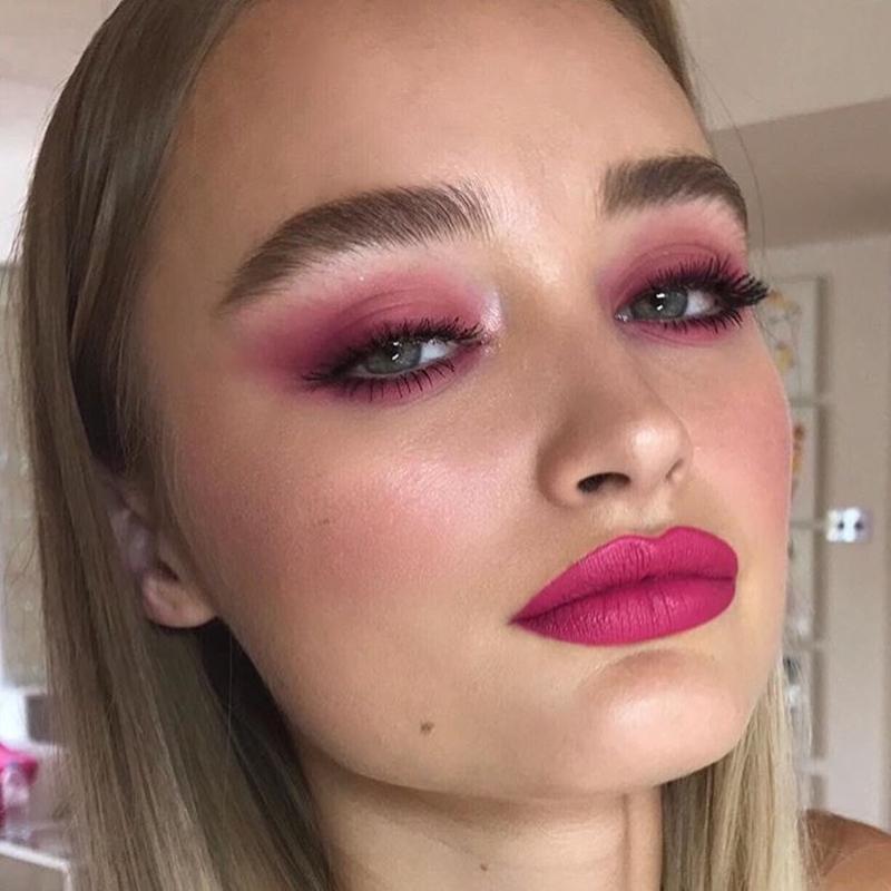 Maquiagem rosada 2021