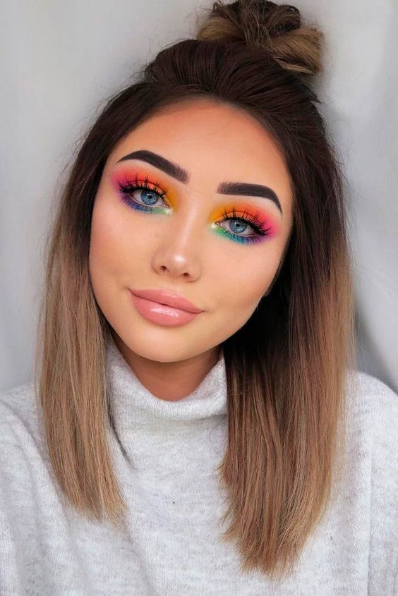 Olhos coloridos 2021