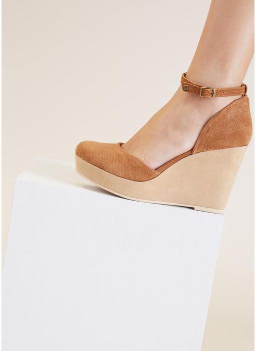 Sapato boneca anabela 1