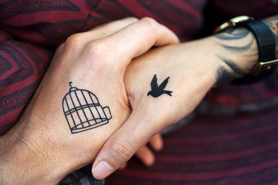 Tatuagens para casais em 2021