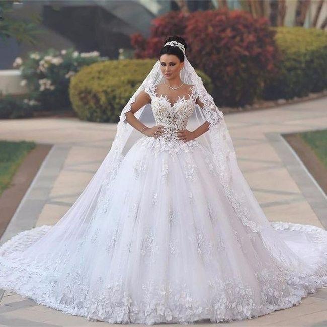Vestido Estilo Princesa