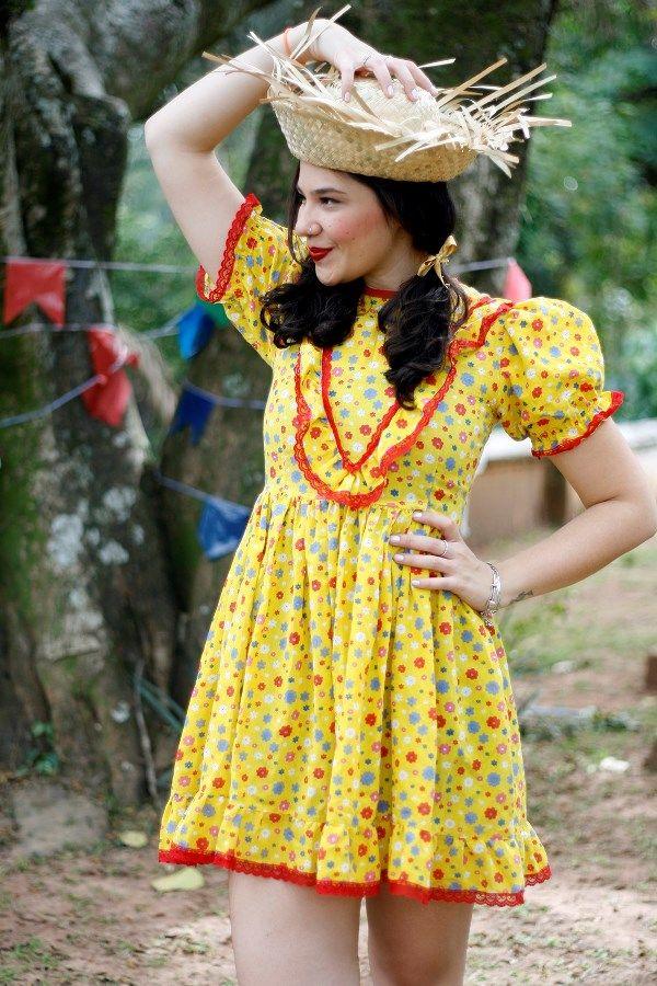Vestido caipira festa junina 2020 1
