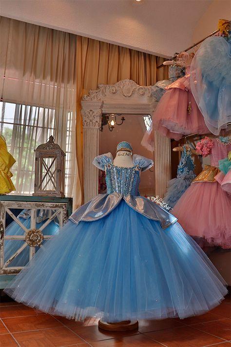 Vestido de princesa Disney 2021