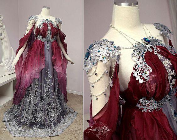 Vestido de princesa de conto de fadas 2021