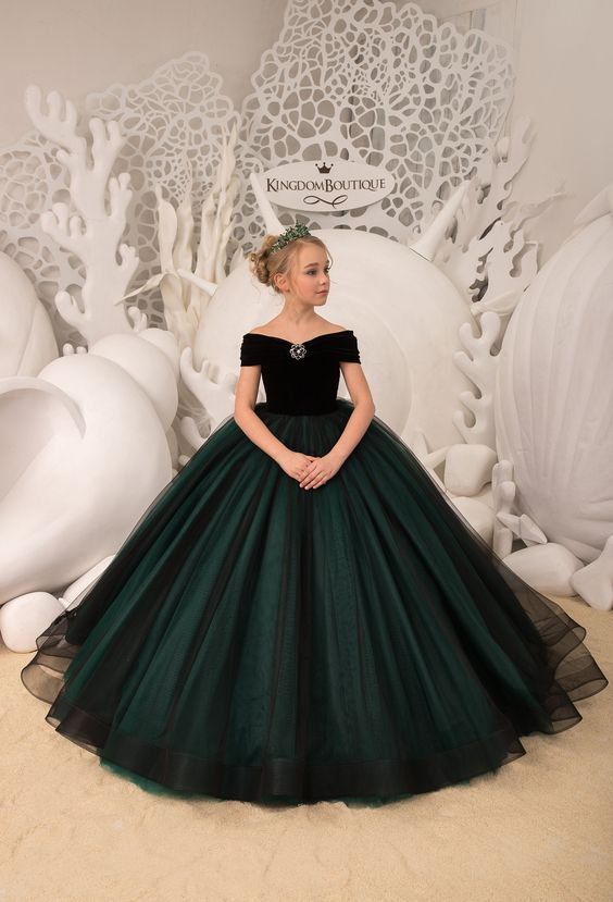 Vestido de princesa infantil 2021