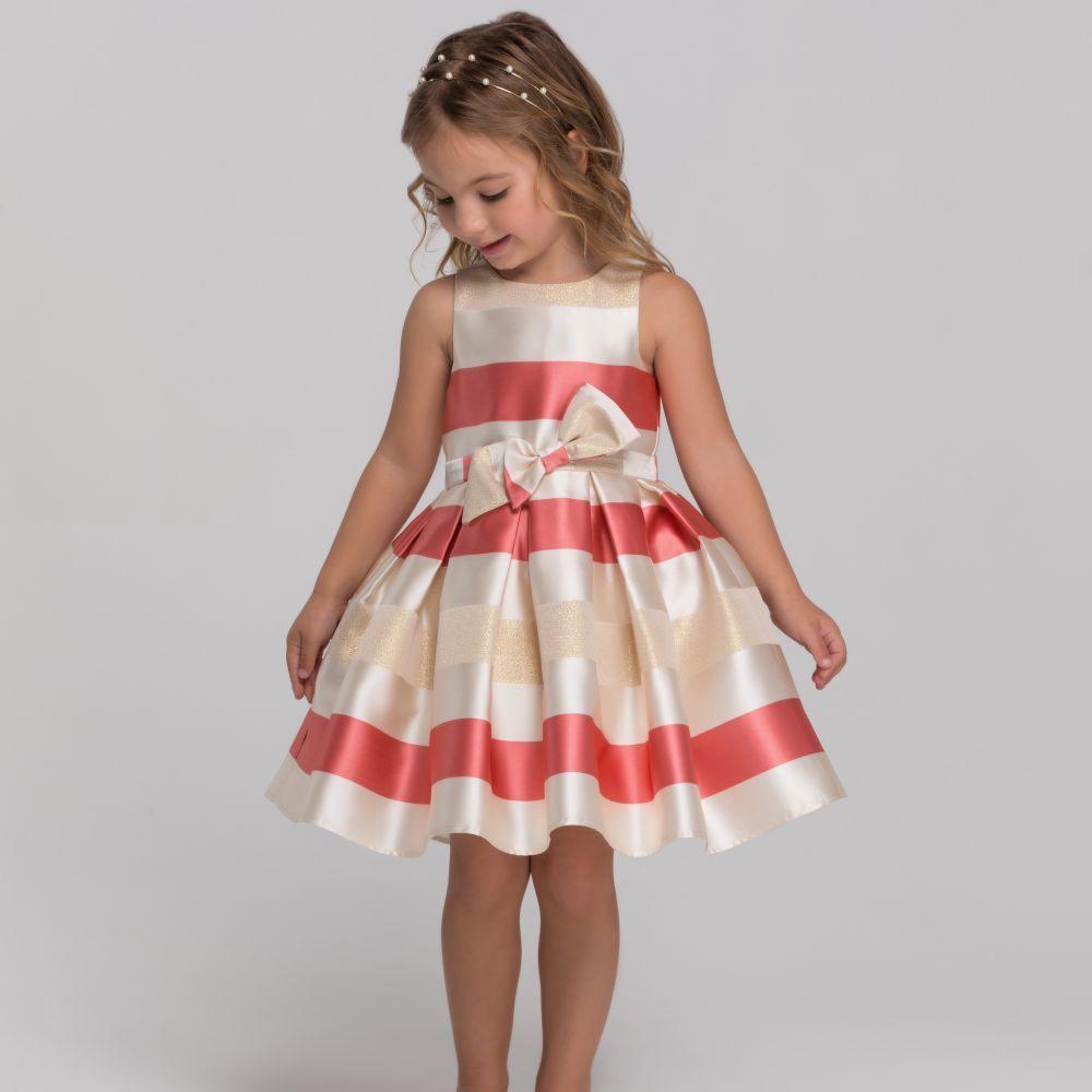 Vestido infantil evasê 2021