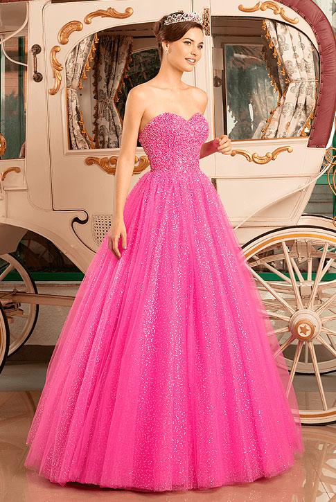 Vestido para formatura estilo princesa 2021