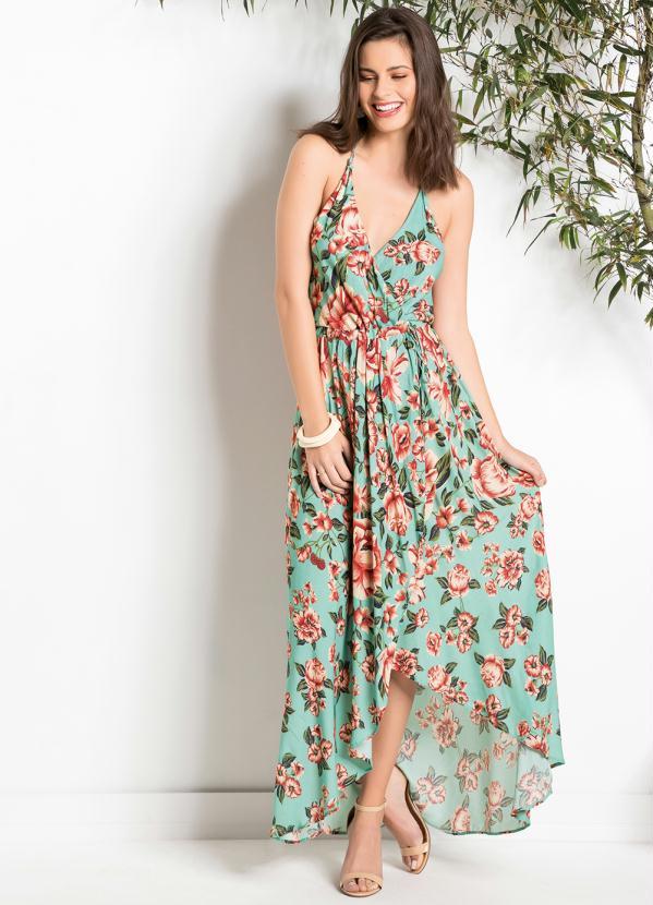 Vestidos florais longos 2021