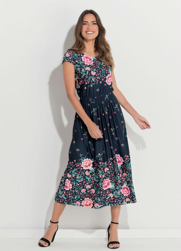 Vestidos florais midi 2021