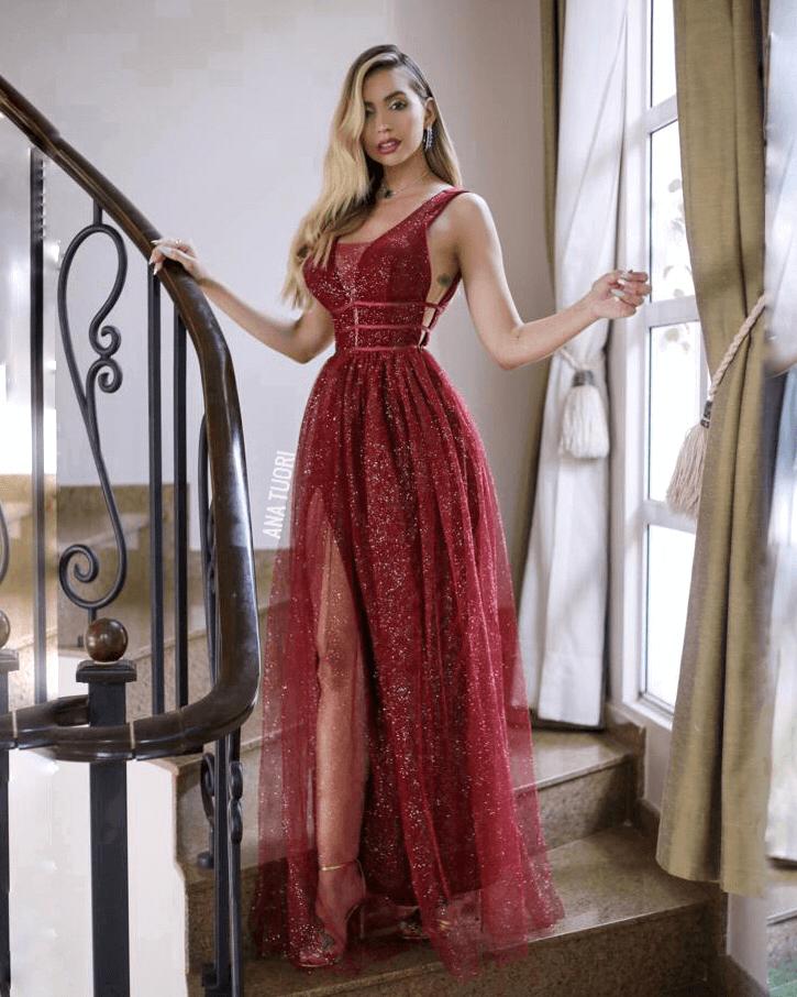 Vestidos para formatura longo 2021