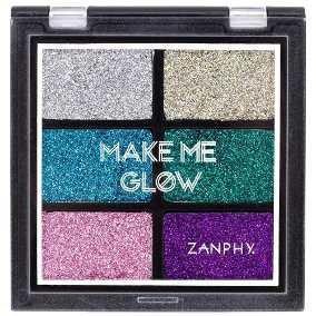 Zanphy Make Me Glow – Paleta de Glitter