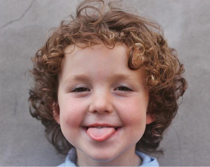 cabelo cacheado infantil menino