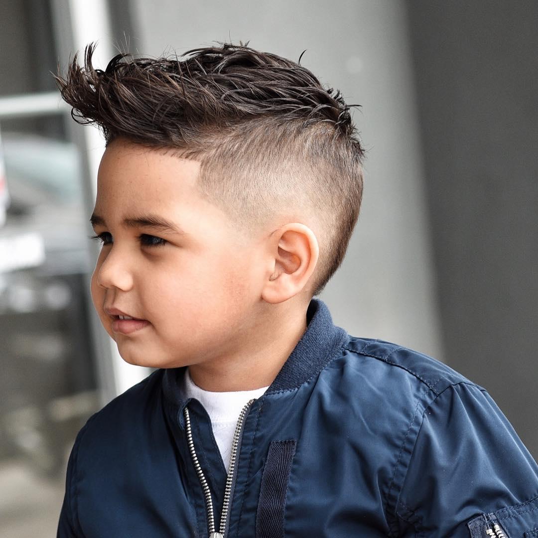 cabelo com topete meninos