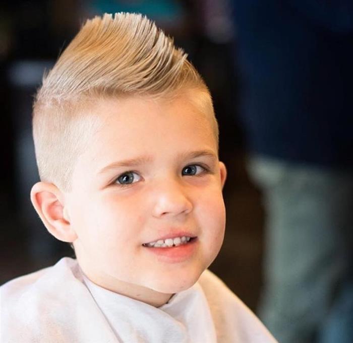 cabelo liso infantil para meninos