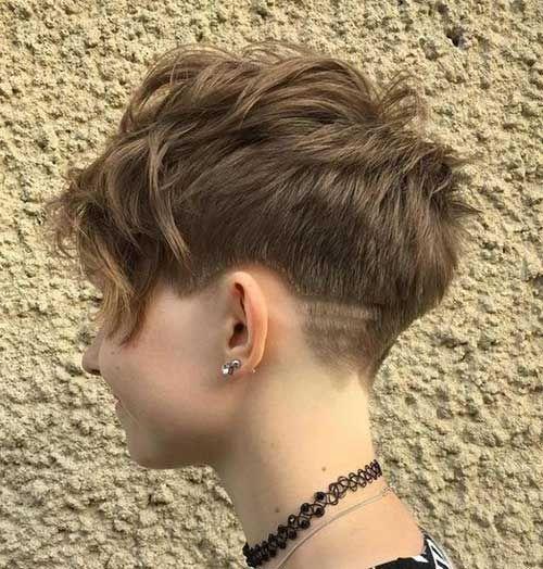 cabelo pixie em menina
