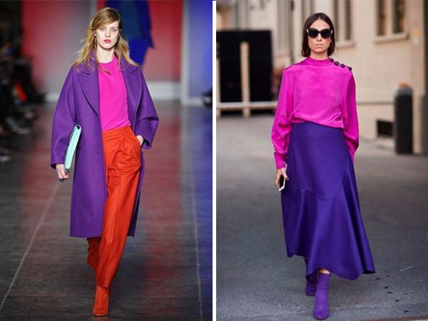 cores vibrantes moda inverno