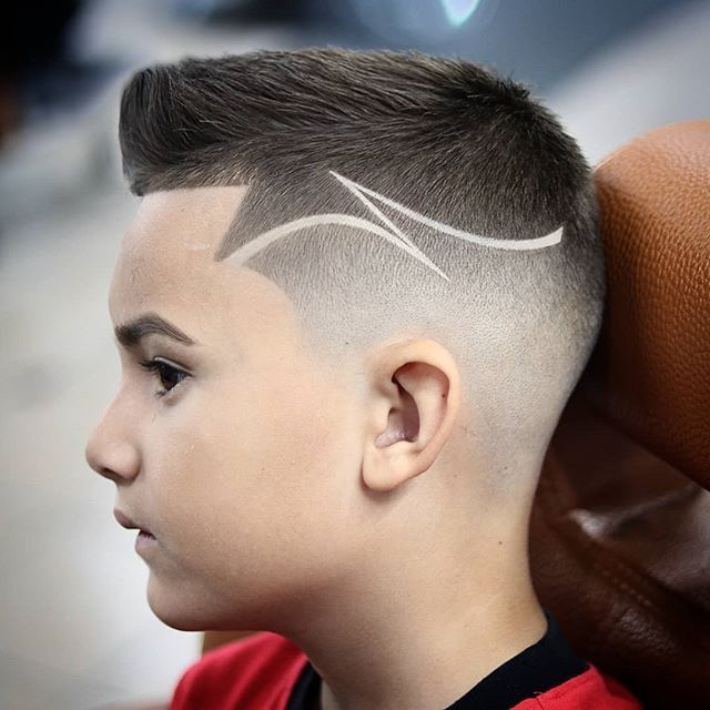 corte cabelo infantil menino moderno