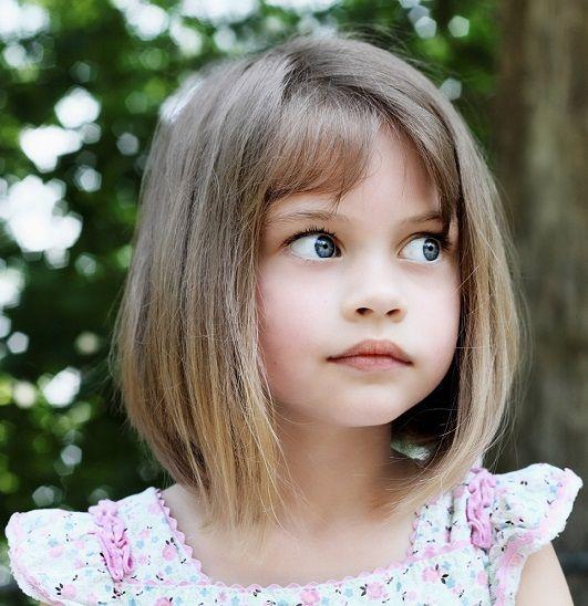 corte chanel em menina