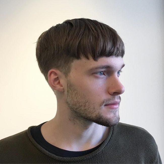 corte de cabelo tigelinha masculino