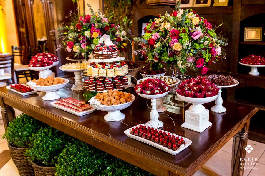 decoração de doces para casamento