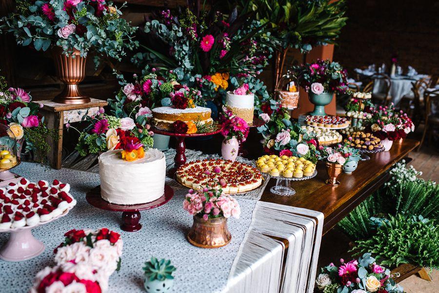 doces de casamento para 2020 tendências