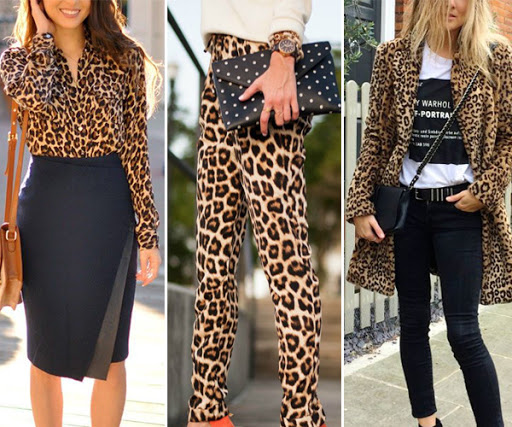 estampa de animal print