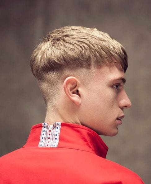 estilo tigela corte de cabelo masculino