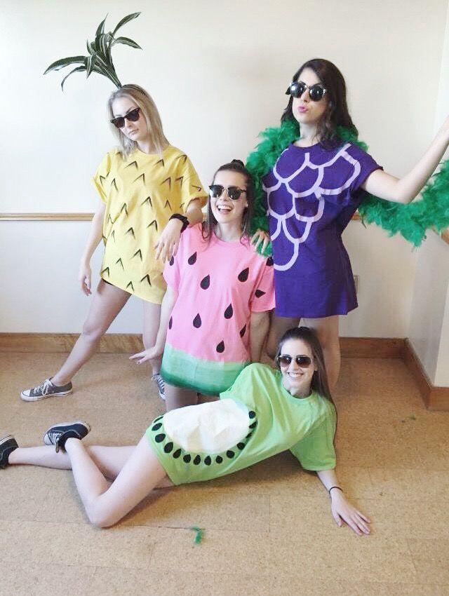 fantasia de frutas para carnaval