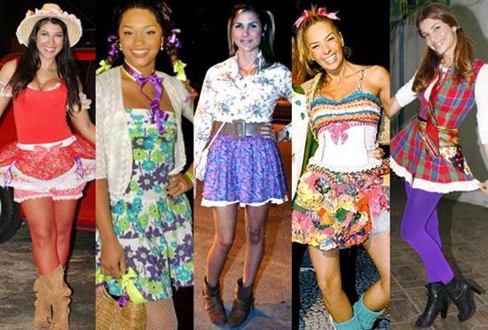 fests junina roupas femininas