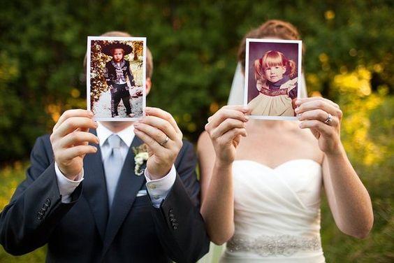 fotos casal para casamento com retratos antigos