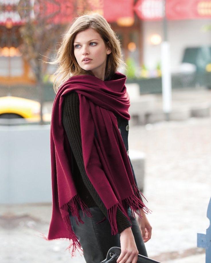 lenço na moda outono