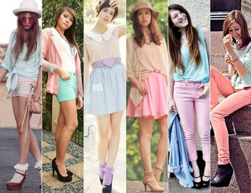 looks candy colors