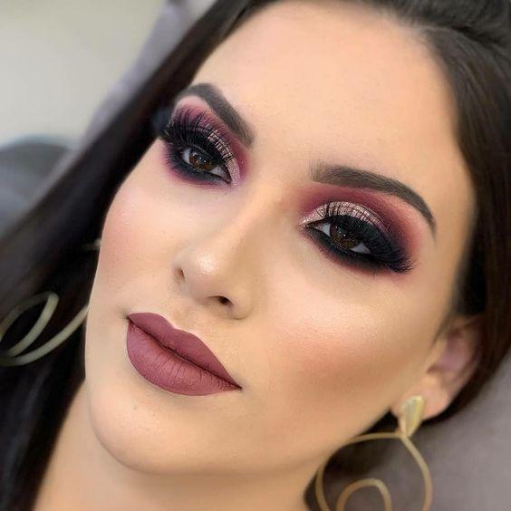 maquiagem romântica formatura 2021