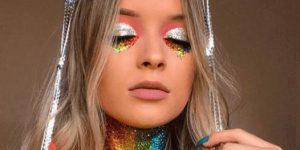 maquiagem-carnaval-arco-iris-glitter