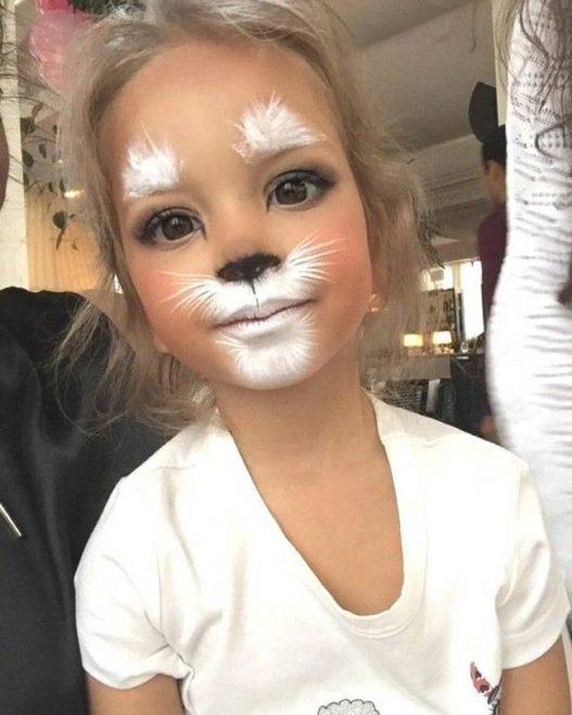 maquiagem de carnaval para crianças