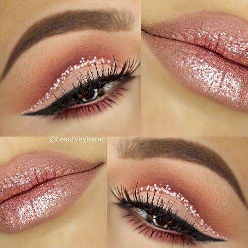 maquiagem com glitter 2020