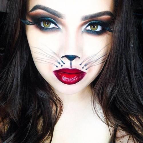 maquiagem de gatinha