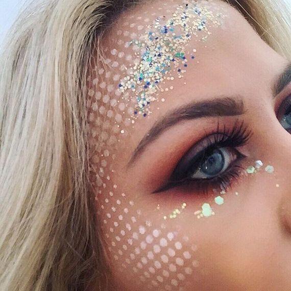 maquiagem de sereia carnaval 2021